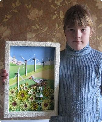 рисунки зеленая планета: