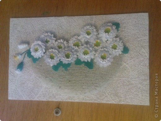 спасибо Ольге Ольшак вот такой подарок у меня получился. Очень понравились цветы Ольги,но для моей рамочки они велики (сделала поменьше, но что то не очень довольно. пора начинать учится рамочки углублять))) фото 5