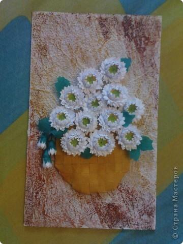 спасибо Ольге Ольшак вот такой подарок у меня получился. Очень понравились цветы Ольги,но для моей рамочки они велики (сделала поменьше, но что то не очень довольно. пора начинать учится рамочки углублять))) фото 7