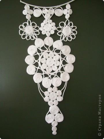Цветочки в технике макраме. фото 1