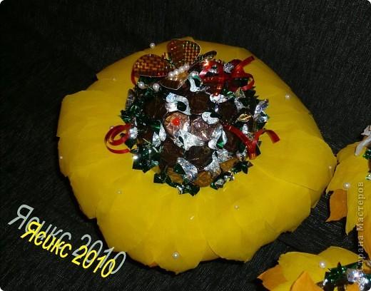 Букет из конфет своими руками фото мастер