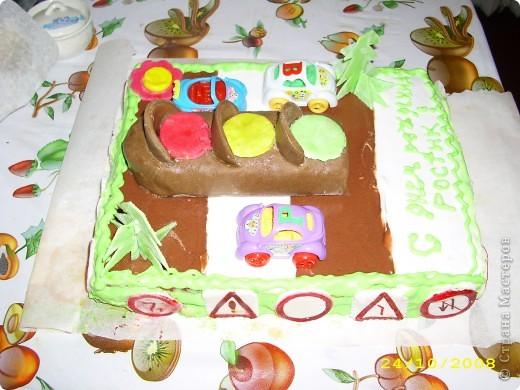 Тортик на 1 годик доченьки! фото 3