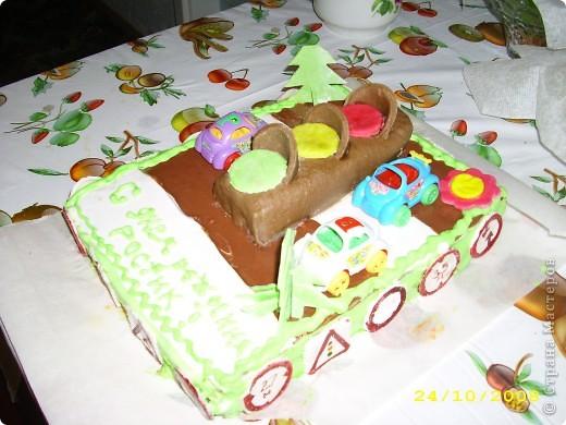Тортик на 1 годик доченьки! фото 4