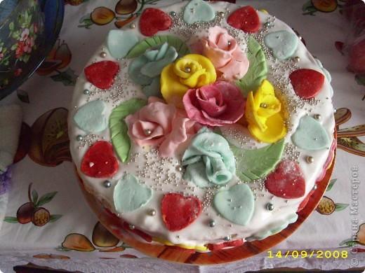 Тортик на 1 годик доченьки! фото 2