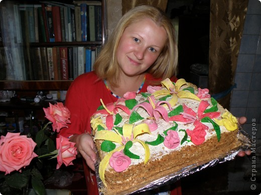 Тортик на 1 годик доченьки! фото 7