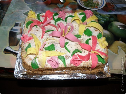Тортик на 1 годик доченьки! фото 9
