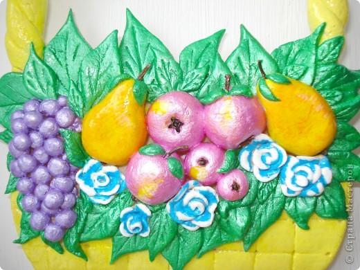 Корзиночка с фруктами. фото 2