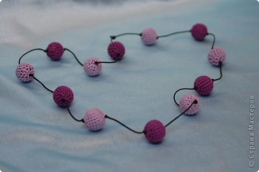 Переделала немного эти бусы(чуть удлинила) и добавила к ним сережки. фото 2