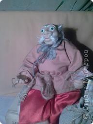 Моя первая интерьерная кукла