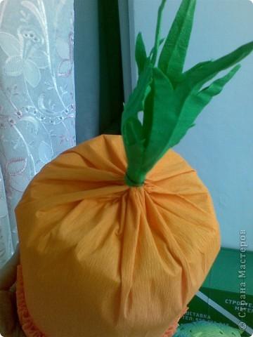 Мастерим шапочки овощей фото 4