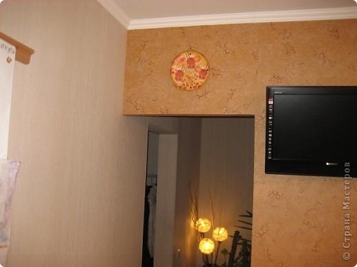 Мои новые часы на кухне) фото 2
