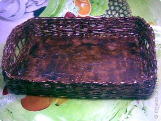 еще один наборчик(разнос,хлебница,подбутыльница) фото 3