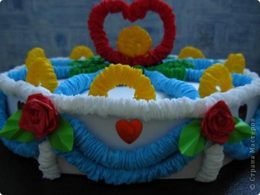 Получился вот такой тортик. фото 2