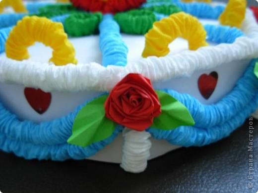 Получился вот такой тортик. фото 3