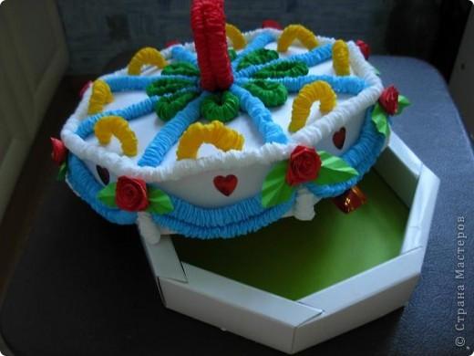 Получился вот такой тортик. фото 5