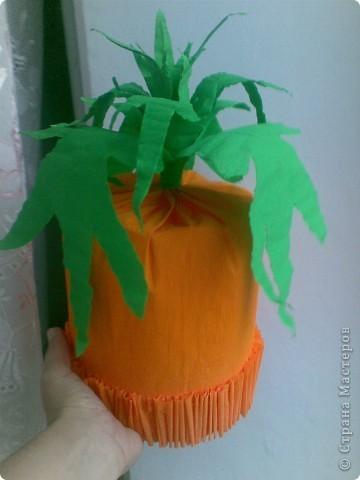 Мастерим шапочки овощей фото 1