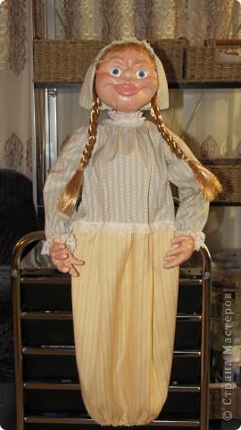Высота 65 см, грунтованный текстиль. Спасибо огромное Ликме, очень помог ее мастер-класс. фото 3