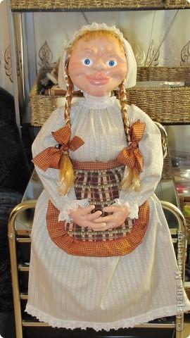 Высота 65 см, грунтованный текстиль. Спасибо огромное Ликме, очень помог ее мастер-класс. фото 1