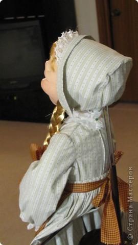 Высота 65 см, грунтованный текстиль. Спасибо огромное Ликме, очень помог ее мастер-класс. фото 6