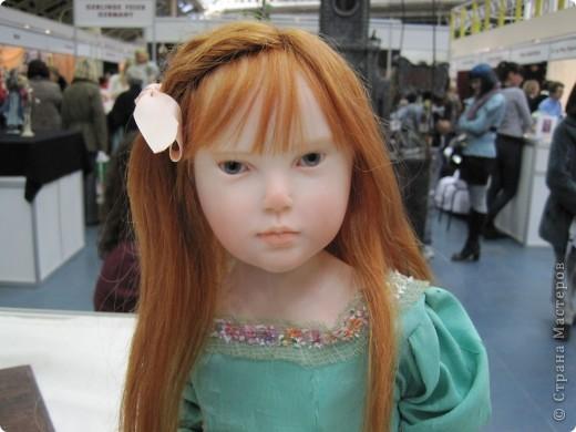 В Москве начал свою работу Шестой международный Салон кукол. Спешу поделиться с Вами красотой. фото 1