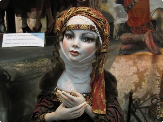 В Москве начал свою работу Шестой международный Салон кукол. Спешу поделиться с Вами красотой. фото 2