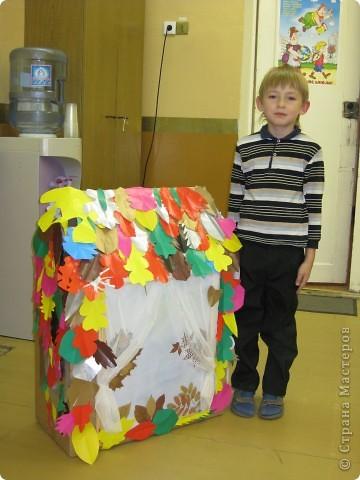 Была у нас в классе не нужная большая коробка.  фото 4