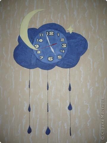 Часы тучка фото 1