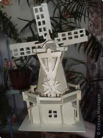 вот такую мельницу соорудил наш папа, нам в подарок фото 2