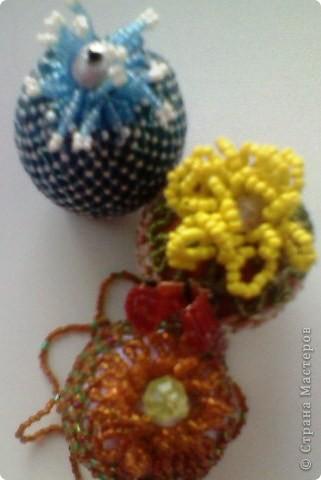 Три пасхпльных яйца фото 2