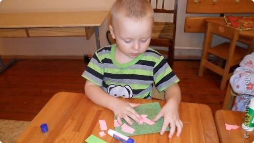 Первые шаги в бумагопластику. Работа детей, посещающих мой кружок. фото 1