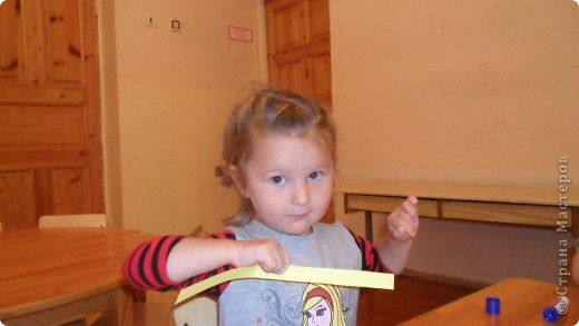Первые шаги в бумагопластику. Работа детей, посещающих мой кружок. фото 3