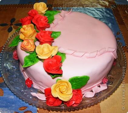 Торт для мамы фото 1
