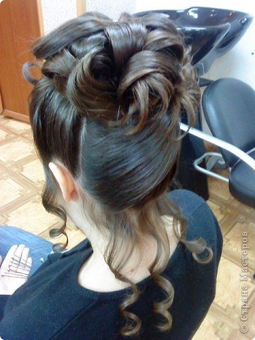 Сложные причёски с элементами плетения фото 3