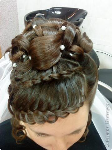 Сложные причёски с элементами плетения фото 1