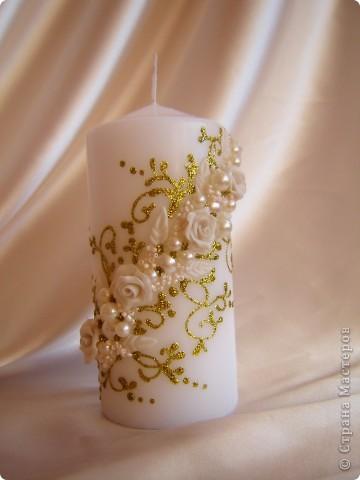 Свадебная свеча фото 1