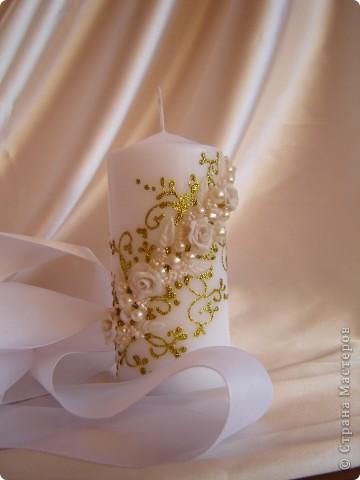 Свадебная свеча фото 2