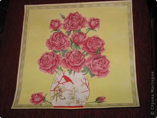 """Ваза """"Розы"""" фото 3"""