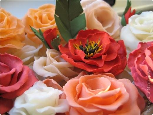 цветы из холодного фарфора фото 4