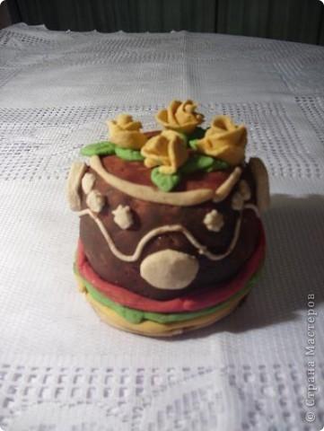 Тортик, делала Лиза, 5 лет 11 мес. фото 1
