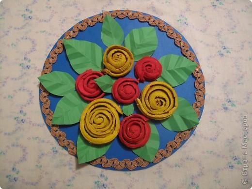 Розы из апельсиновых корок фото 2