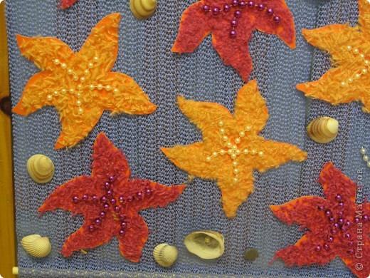 Панно с морскими звёздами фото 1