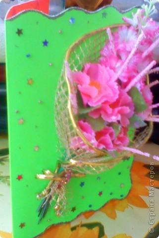 Эту открытку я делала дочке на день её рождения. фото 3