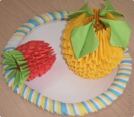 Ягодка и апельсин