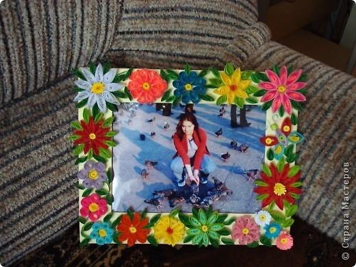 Вот такое панно я подарила подруге на день рождения. Это одна из моих первых работ. фото 2