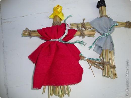 Куклы-моталки из ниток фото 5