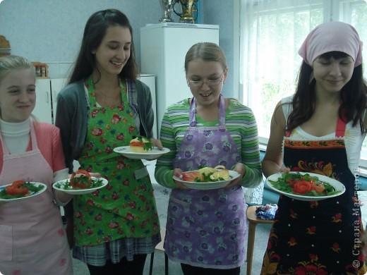 На уроке кулинарии в 8 классе. фото 1