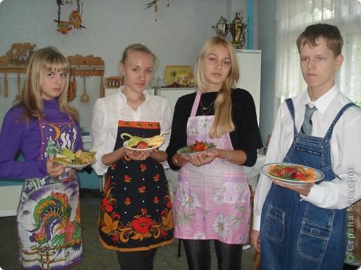 На уроке кулинарии в 8 классе. фото 6