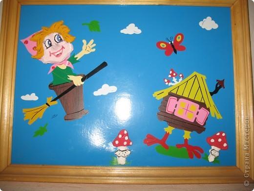 Все дети любят сказки. Вот  такие работы сделаны ОчУмелыми ручками педагогов.   фото 4