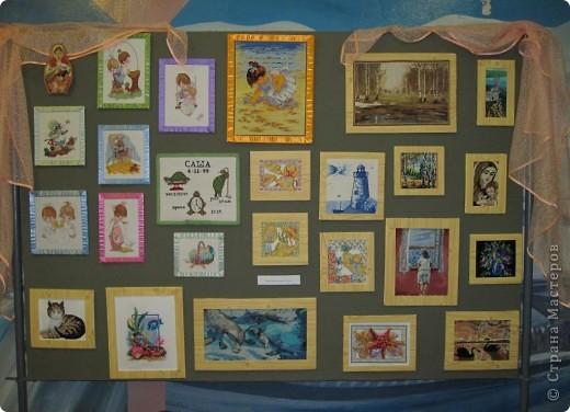 Мои работы на выставке... фото 1
