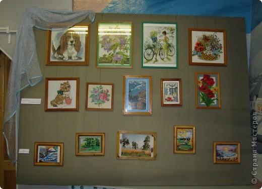 Мои работы на выставке... фото 2